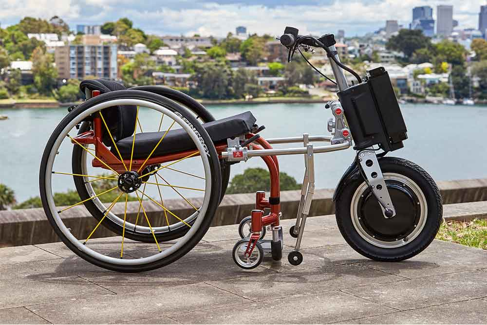 Pony Power Drive Add On Wheelchair Motor Total Ability