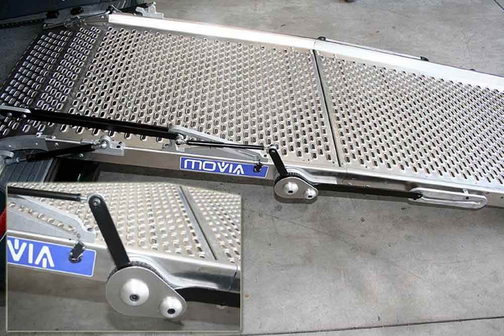 motorised wheelchair ramp