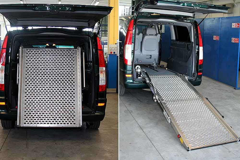 electric wheelchair ramp