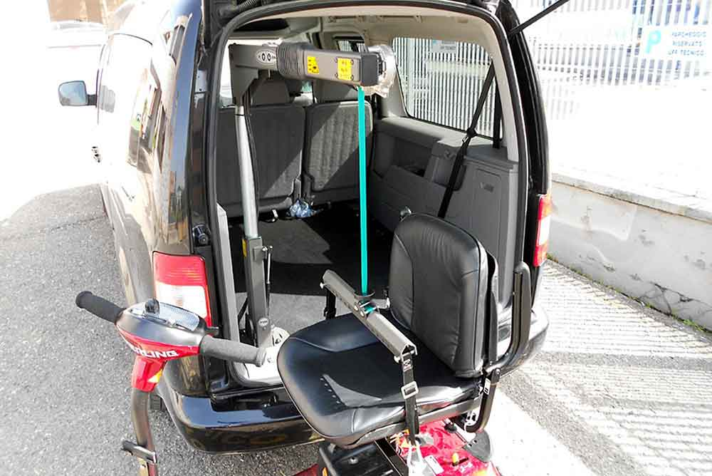 Sg50 Wheelchair Or Scooter Lift Hoist Total Ability