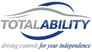 Total Ability Logo with driving for your independence tagline
